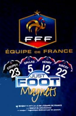 FFF Equipe de France - Just Foot Magnets 2009