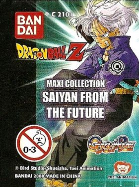 DragonBall Z - Gashapon Maxi Collec - Saiyan from the Future