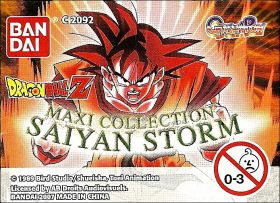 DragonBall Z - Gashapon Maxi Collection - Saiyan Storm