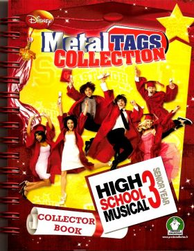 High School Musical 3 - Metal Tags Collection (Disney)