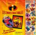 Les Indestructibles - Magnets - Panini - 2004