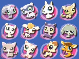 Littlest Pet Shop - Magnets