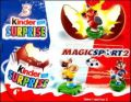Magicsport 2 (figurines Kinder Surprise) TT124 à TT133