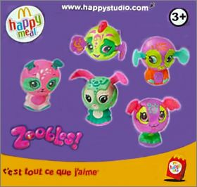 Zoobles! Happy Meal - Mc Donald - 2012