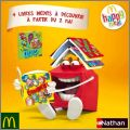 4 Livres inédits - Happy Meal - Mc Donald - Nathan - 2012