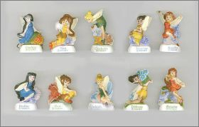 Disney Fairies - 10 Fèves mates - Arguydal - 2010