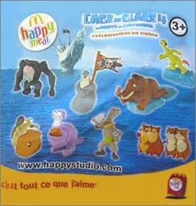 L'age de glace 4 - La dérive des continents - Happy Meal