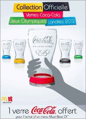Verres Coca-Cola : La Collection JO 2012 - Mc donald