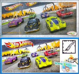 Hot Wheels 2012 - 2013 - Kinder surprise - TR125 à TR130