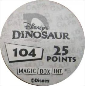 Dinosaure - Pogs Disney - Magic Box Int - 2000
