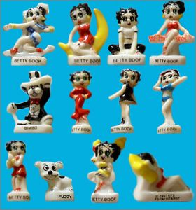 Betty Boop - 12 Fèves Brillantes - Arguydal - 1998