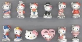 Hello Kitty - Alcara - Fèves Brillantes - 2012