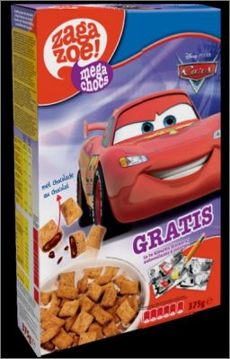 Cars 2 Disney  Mega Chocs Magnets Zagazoé It's for Kids 2013