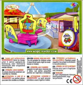 Parc d'Attractions Objets - Kinder Joy - NV156 et NV158