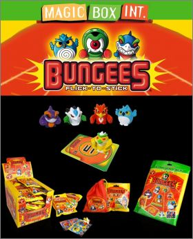 Bungees Flick-To-Stick - Séries 1 - Figurines Magic Box Int
