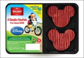 Mickey et ses amis font du Sport - Magnets Bigard - 2013