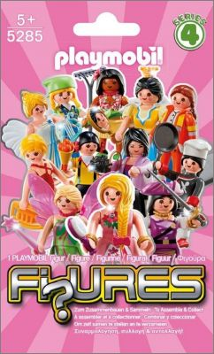 Playmobil Figurines 5285 (Filles) - Séries 4