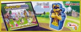 Dog Stories Rex Bell Stick - Kinder - UN184 - Allemagne 2010