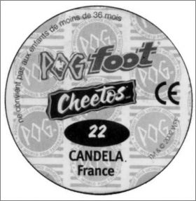 Pog Foot - Cheetos - France - Pogs - 2002 Hasbro