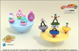 Dizzy Dancers/ Beyblade Toupie - Happy Meal -Mc Donald -2013