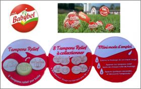 Tampons Relief 8 à collectionner - Mini- Babybel - 2013