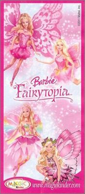 Barbie Fairytopia -  kinder surprise - DC262 à DC265 - 2011