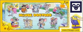 Mouse Doctors  - Kinder surprise -  DC119 à DC127