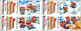 Hanny bunnys - Puzzles - Kinder  Allemagne 1996