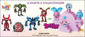 Bakugan / Zoobles - Happy Meal -  Mc Donald - 2013