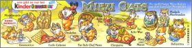Miezi Cats (figurines Kinder Surprise) - Allemagne - 1997