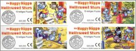 Die Happy Hippo Hollywood Stars Puzzles Kinder  Allemagne