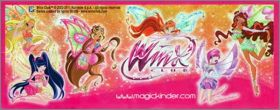 Winx Club - Puzzles - kinder  Mexique 2011 - DC253 à DC255