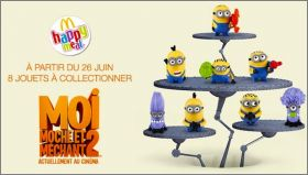 Moi Moche et Méchant  2 - Happy Meal -  Mc Donald - 2013