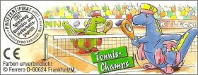 Tennis Champ - Kinder - Allemagne - 2001 - 659 053, 659 118