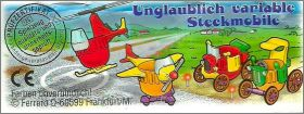 Unglaublich variable Steckmobile - Kinder Allemagne  1998