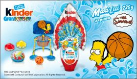 The Simpsons - Kinder Maxi Lui - TR-3-26 à TR-3-30 - Italie