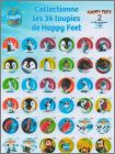 Happy Feet 2 - Chiquita Kids - 36 toupies - Belgique