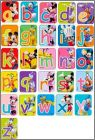 Alphabet  Disney Fun Fruits (Magnets) - Pays-Bas