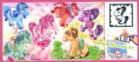 Poneys - Kinder surprise - FT088 à FT093 - 2013