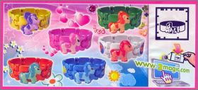 Bracelets Poneys - kinder surprise - FT096 à  FT098 - 2013