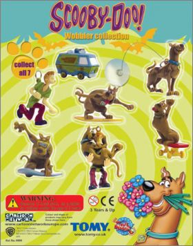 Scouby Doo ( Scoubidou) - Wobbler Collection - Tomy - 2004