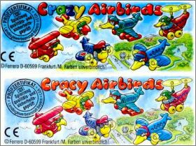 Crazy (Cracy) Airbirds - Kinder -  Allemagne - 1996