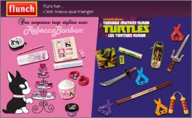 Rebecca Bonbon et Tortues Ninja - Flunch - 2013