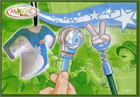 Magic Sport - Fan Set - Kinder - S64 à S66 -  Argentine