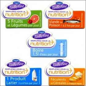 Taillefine de Danone: simplifiez-vous la nutrition - Magnets