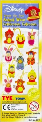 Winnie the pooh - Animal wear - Celebration Collection Tomy