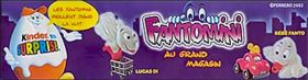 Fantomini au grand magasin (figurines Kinder surprise)