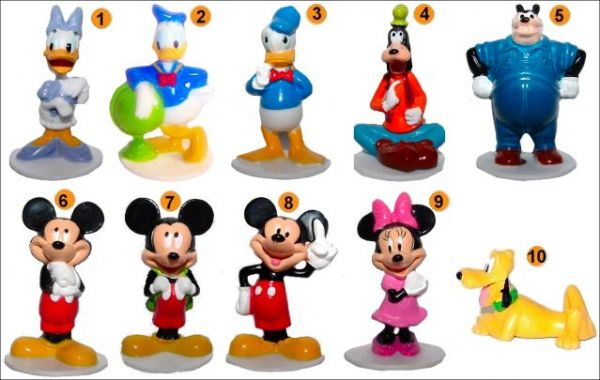 Figurines Mickey Mouse Fisher Price 24m+  Jouets 12 mois et plus  Bebitus