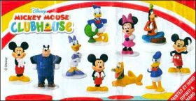 Mickey Mouse Clubhouse - Disney -  Zaini - figurines