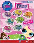 Littlest Pet Shop - Secret Case & Stickers - Gacha Tomy